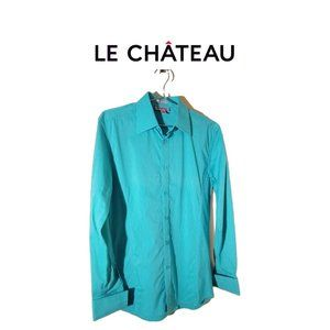 French Cuff Dress Shirt - Slim Fit by Le Chateau